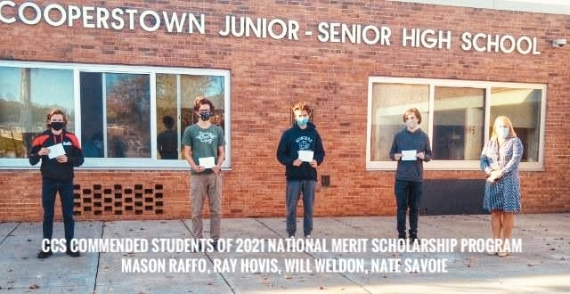 CCS Students Commended in 2021 National Merit Scholarship Program