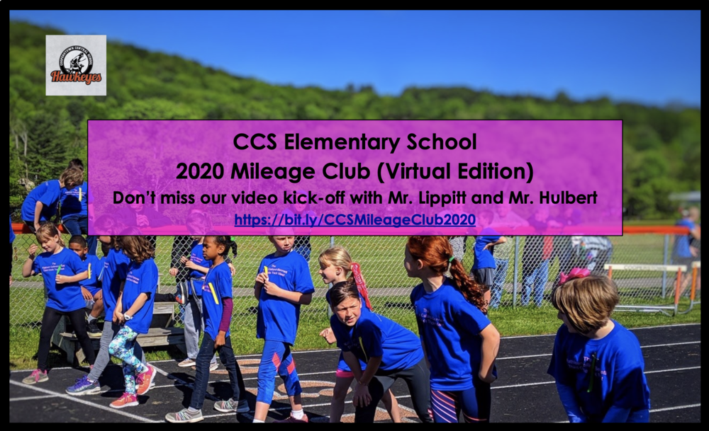 CCS Elementary School Kicks Off Mileage Club