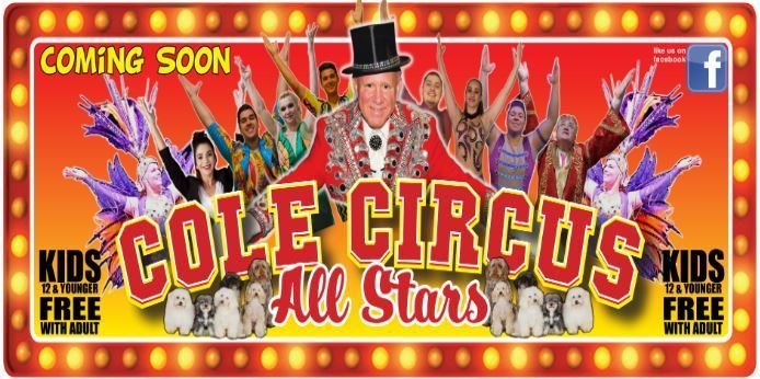 CCS Student Council to Host Cole Circus Fundraiser