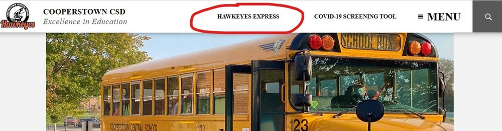 CCS District News Available at Hawkeyes Express on Website