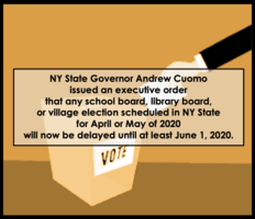 BOE Elections and Budget Vote Postponed
