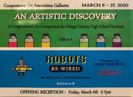 ROBOTS Re-Wired Collaborative Art Show