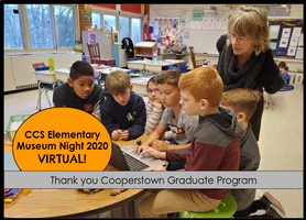 CCS & Cooperstown Graduate Program Host VIRTUAL Museum Night 2020