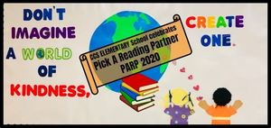 Pick A Reading Partner (PARP) Kicks Off at CCS Elementary