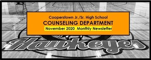 NOVEMBER Issue of CCS Jr/Sr Counseling Newsletter