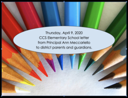 4/9/2020 CCS Elementary Letter to Parents/Guardians