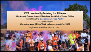CCS LTA 6th Annual Run/Walk - Virtual Edition
