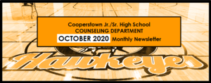 OCTOBER 2020 CCS Counseling Newsletter