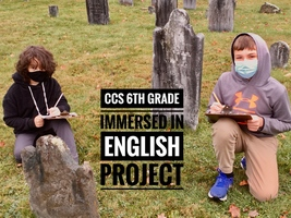 Garcia Leads CCS 6th Grade Students in English Project