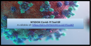 NYSDOH Covid-19 Tool Kit Available on CCS Website
