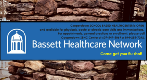 Bassett School Based Health Center OPEN at CCS