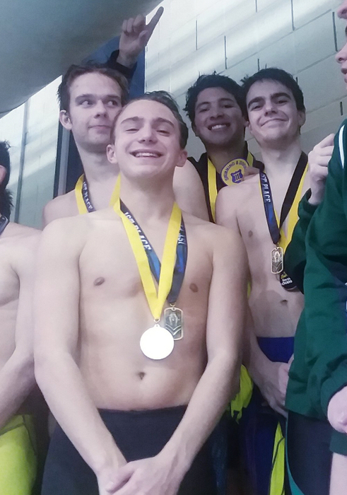 200 Relay Sectional Champions