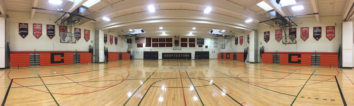 Bursey Gymnasium will be ready.