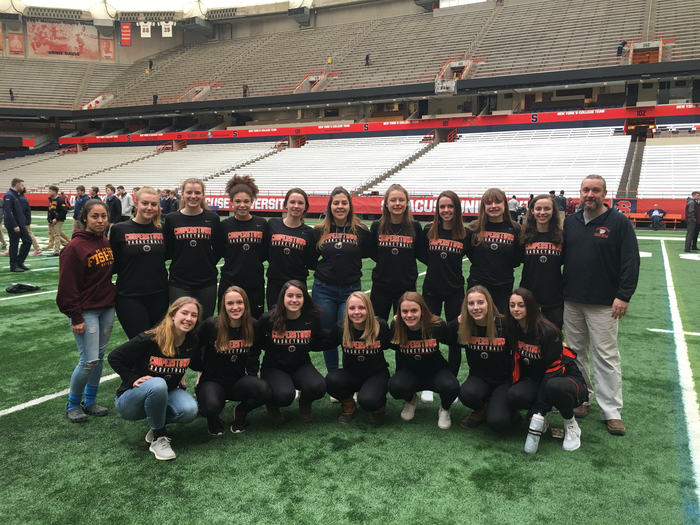 Cooperstown girls at the Carrier Dome