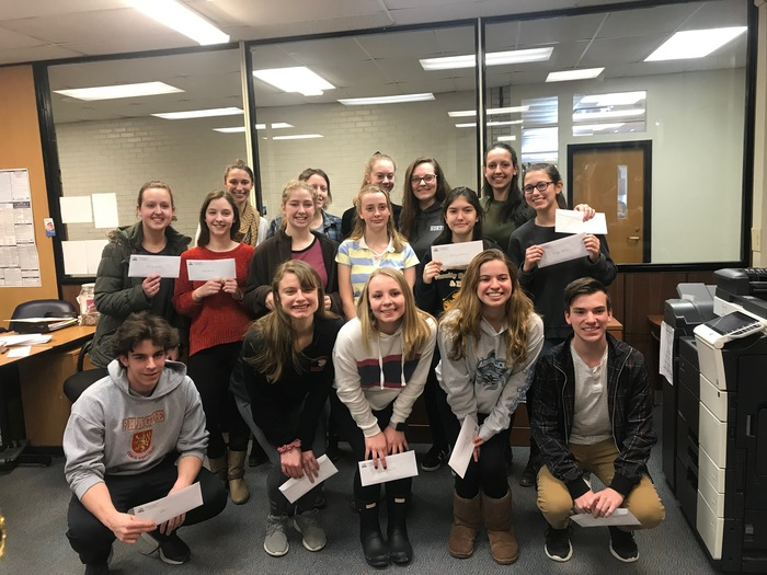 NHS- 2019 Spring Inductees
