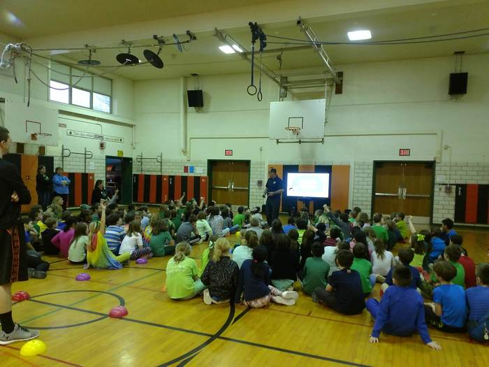 CCS Elementary Students learned about internet safety 3/15/2019