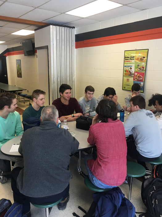 Will Friedman and the lunch crew
