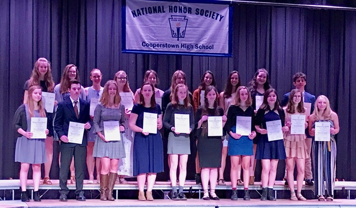 2019 NHS Spring Induction