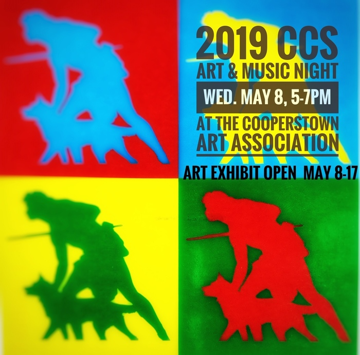 2019 CCS Art & Music Night