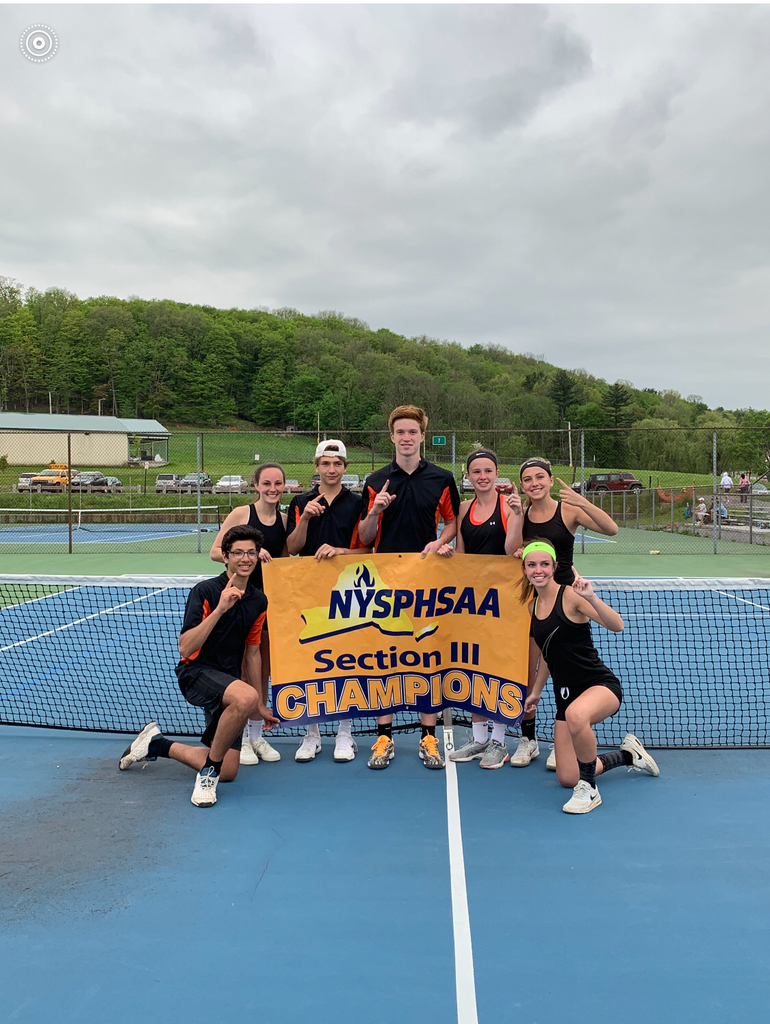 Tennis Sectional Champs.