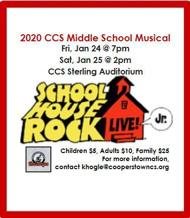 CCS Middle School Musical