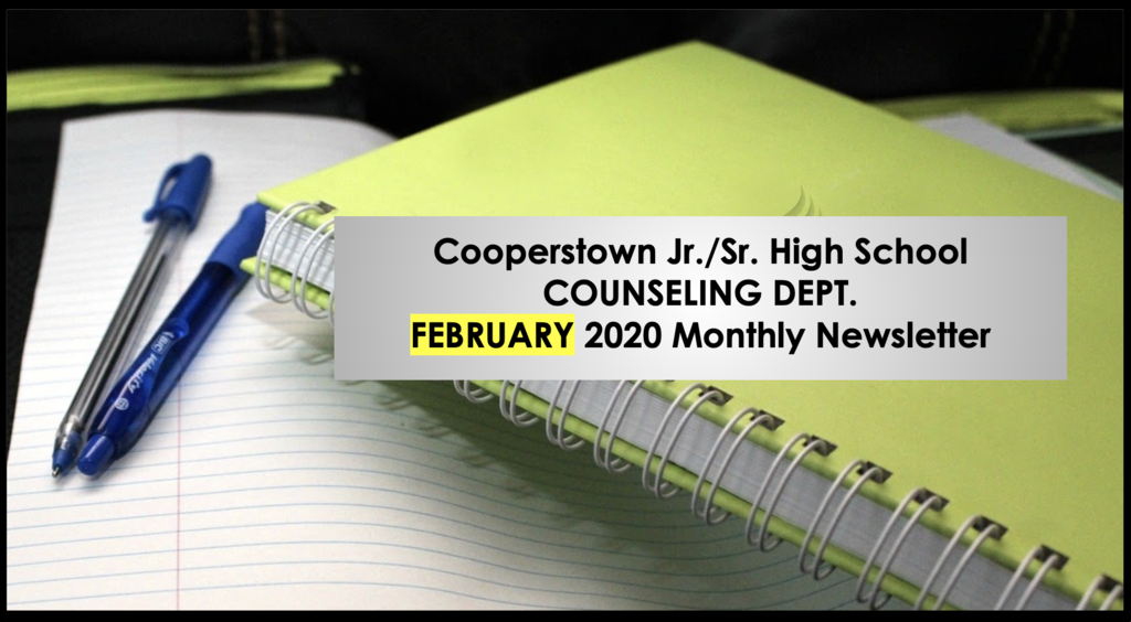 Feb 2020 CCS Counseling Newsletter